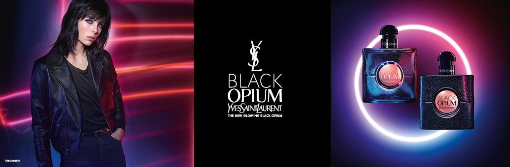 YVES SAINT LAURENT Black Opium Glowing toaletna voda za ženske