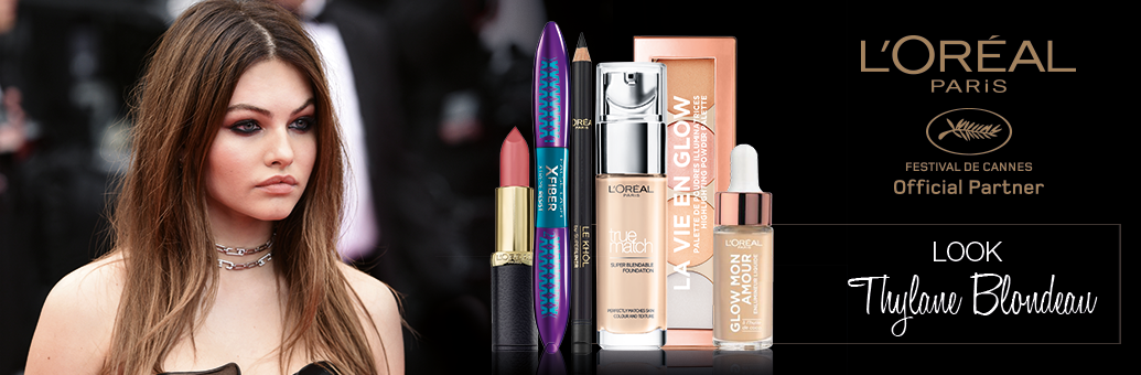 Loreal Paris Red Carpet Looks Thylane Blondeau 2