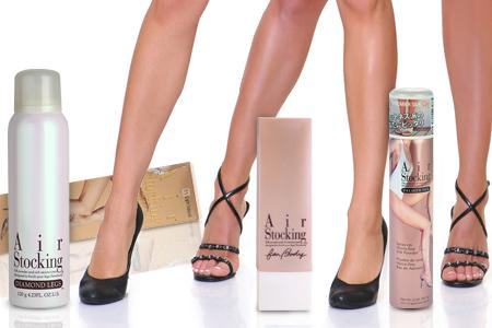 RES PRIPOROČAM! Make-up za telo in nogavice v pršilu AirStocking