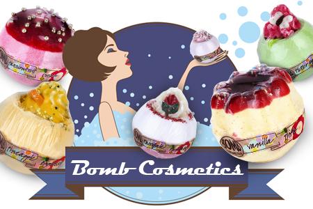 Doživite odlično kopel z aroma kozmetiko Bomb Cosmetics!