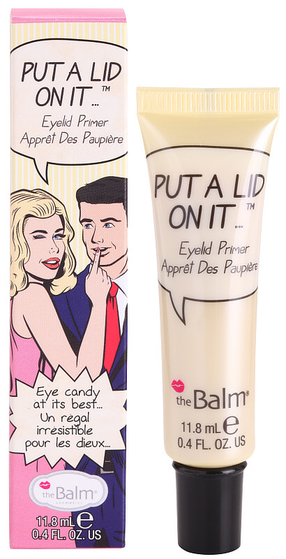 podlaga za senčila za oči theBalm Put A Lid On It