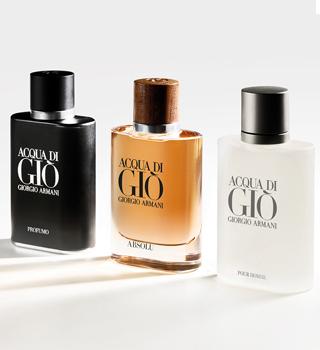 Armani parfémy ZA MOŠKE