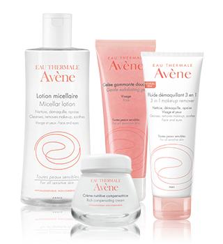 Osnovna nega za občutljivo kožo Avène